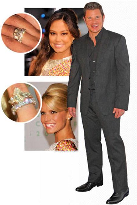 زیباترین حلقه های نامزدی هالیوودی ها,مدل حلقه های نامزدی