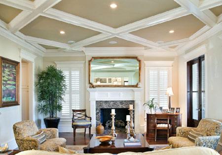 مدل های تزیین سقف,ایده هایی برای سقف