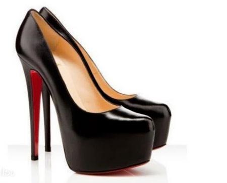 مدل لباس شیک زنانه,مدل کفش پاشنه بلند مشکی