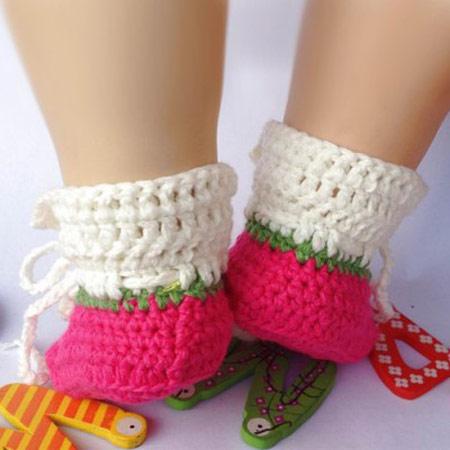 مدل کفش ها و جوراب های بافتنی بچه گانه - سری دوممدل جوراب بافتنی بچه گانه, مدل کفش بافتنی