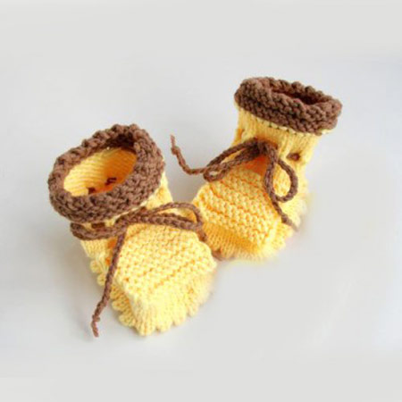 مدل جوراب بافتنی بچه گانه, مدل کفش بافتنی