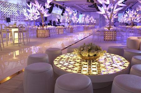 تزیین تالار عروسی,تزیین سالن عروسی