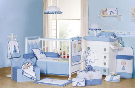 چیدمان و دکوراسیون اتاق نوزادان