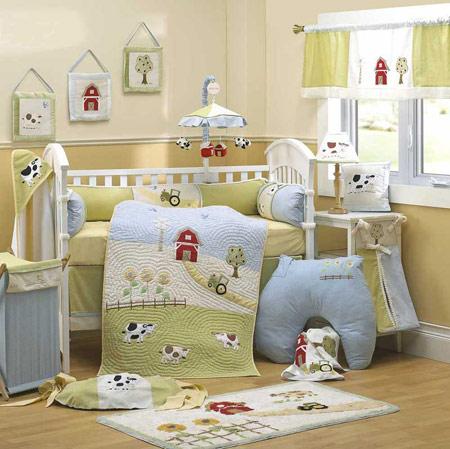دکوراسیون اتاق نوزاد, چیدمان اتاق نوزادان