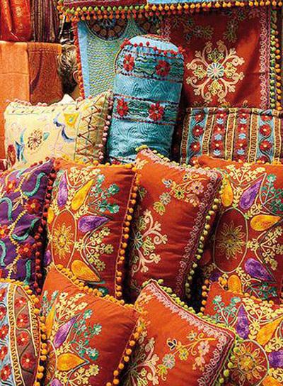 چیدمان خانه به سبک هندی, دکوراسیون خانه های هندی