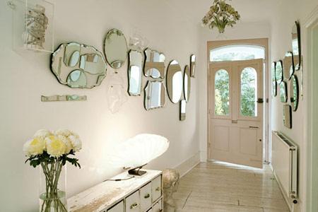 زیباتر کردن خانه با آینه
