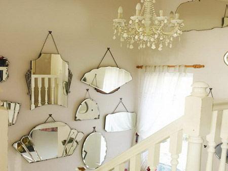 توصیههای فنگ شویی, کاربرد آینه در فنگ شویی