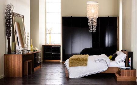 چیدمان اتاق خواب, مدل سرویس خواب