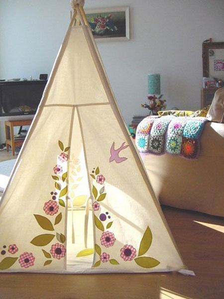 چادر بازی کودک, چادر بازی کودکان