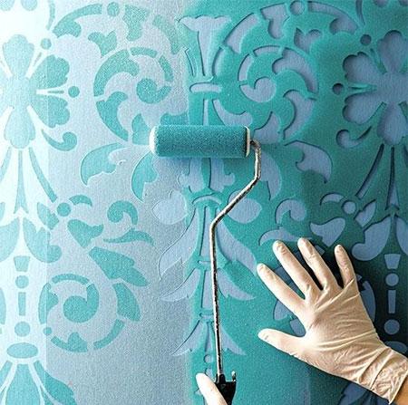 عکس نقاشی ساختمان جدید,نقاشی دیوار