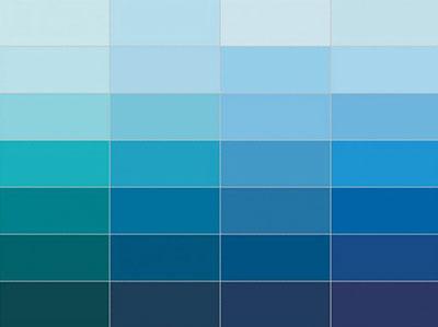 دکوراسیون آبی, چیدمان و دکوراسیون آبی