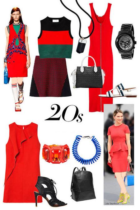 ست های لباس بهاری, لباس های بهاری 2014