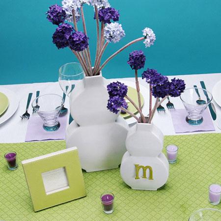 چیدمان میز در روز مادر, اصول چیدمان میز