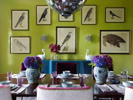 نکاتی برای دکوراسیون رنگی,تکنیک های طراحی منزل
