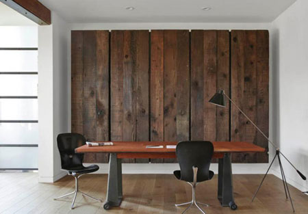 نحوه کارکردن چوب در دیوار,دکوراسیون مدرن