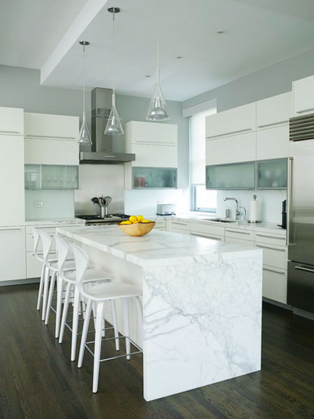 جدیدترین دکوراسیون آشپزخانه, دکوراسیون آشپزخانه با سنگ