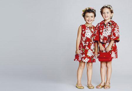 جدیدترین نمونه های لباس دخترانه برند دولچه و گابانا بهار 2014