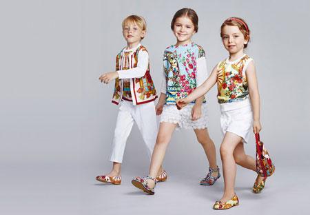 لباس دخترانه دولچه و گابانا, لباس بهاری 2015