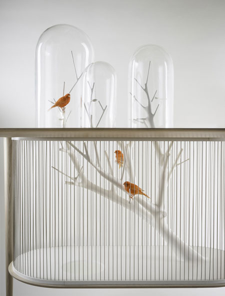 جدیدترین قفس پرندگان, طراحی قفس پرندگان