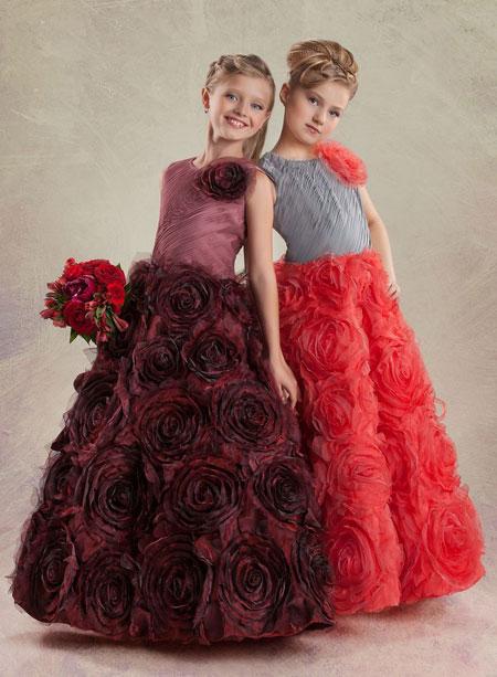 نمونه هایی از شیک ترین و جدیدترین لباس مجلسی دخترانه 2014