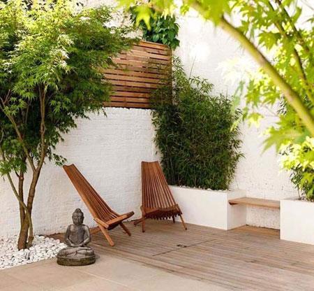 چیدمان حیاط خلوت, زیباسازی حیاط
