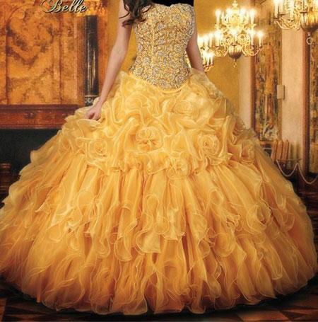 مدل لباس نامزدی, لباس نامزدی پرنسسی