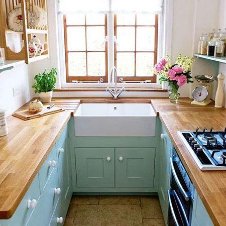 فنون طراحی آشپزخانه کوچک