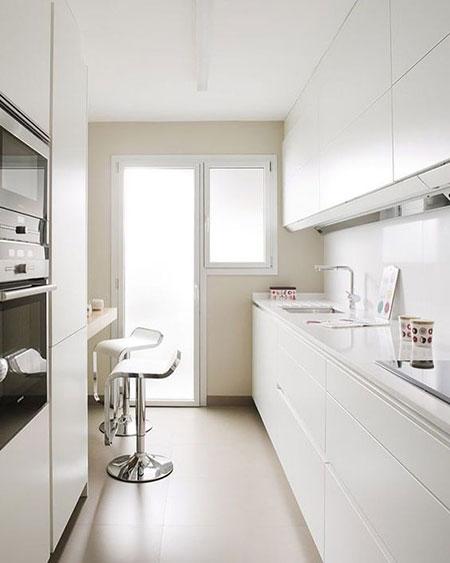 دکوراسیون و چیدمان آشپزخانه های کوچک,آشپزخانه کوچک