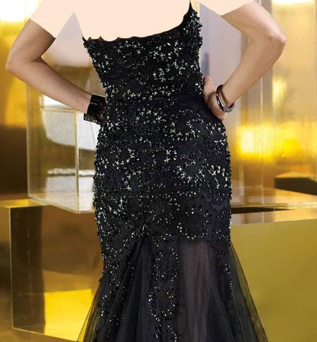مدل لباس شب مشکی 2014, مدل لباس شب مشکی
