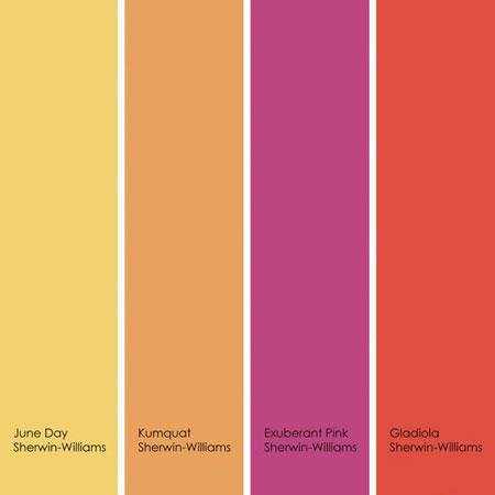 دکوراسیون تابستانی, بهترین رنگ دکوراسیون تابستانی