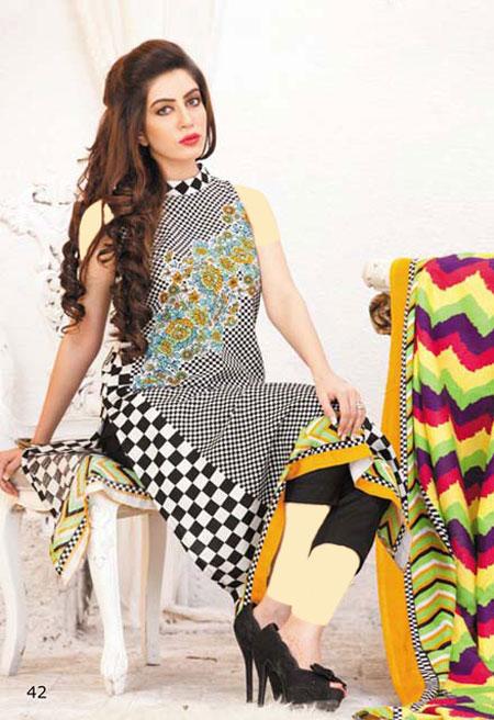 مدل لباس پاکستانی ۲۰۱۴