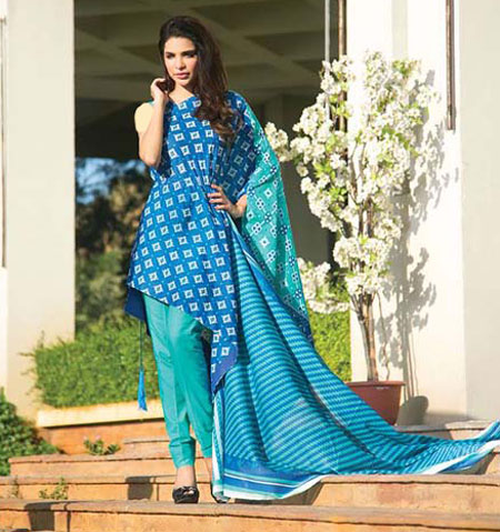 مدل لباس پاکستانی 2014
