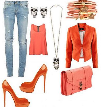 راهنمای انتخاب لباس نارنجی,روانشناسی رنگ نارنجی
