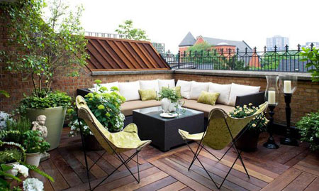 راههایی برای لذت بردن از فضای بیرونی خانه