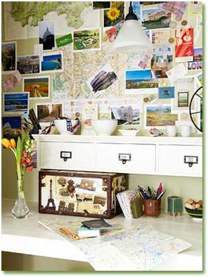 طراحی یک دفتر کار زیبا در منزل