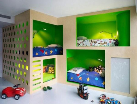 دکوراسیون سبز,استفاده از رنگ سبز در خانه