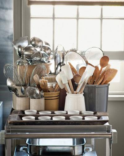 چیدمان ظروف آشپزخانه, نکاتی برای چیدمان آشپزخانه