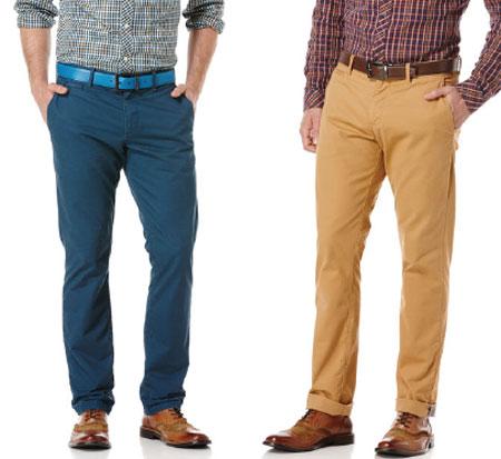 نمونه هایی از جدیدترین مدل های شلوار مردانه در سال 2014