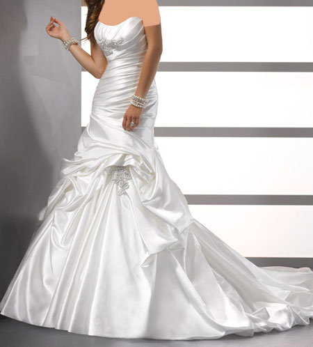 مدل لباس عروس 2014, لباس عروس برند Midgley