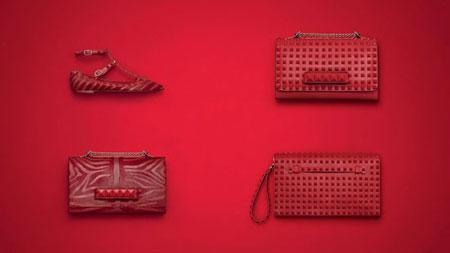 کلکسیون کیف و کفش زنانه Valentino