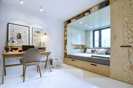 طراحی اتاق 14 متری,ایده هایی برای طراحی اتاق