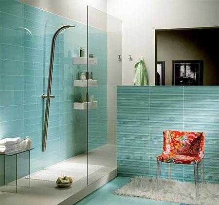 تصاویر دکوراسیون حمام و دستشویی, دکوراسیون حمام و دستشویی های کوچک