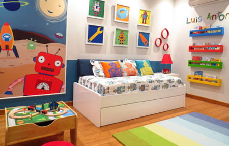 دکوراسیون اتاق کودکان,دکوربندی اتاق کودک