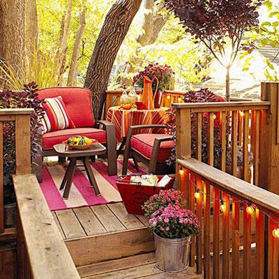پاییزی کردن فضای خانه,دکوراسیون پاییزی