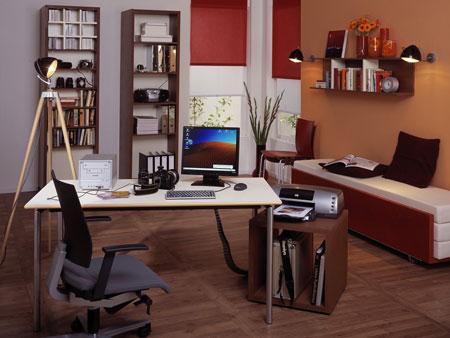 دکوراسیون داخلی اتاق کار,چیدمان اتاق کار