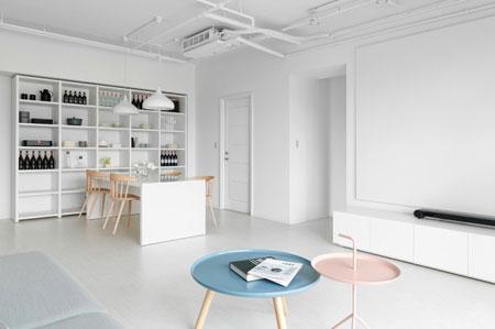 طراحی فضاهای مسکونی,دکوراسیون خانه های کوچک