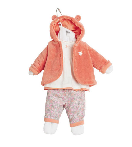 لباس زمستانی دخترانه,لباس نوزادی ۳pommes
