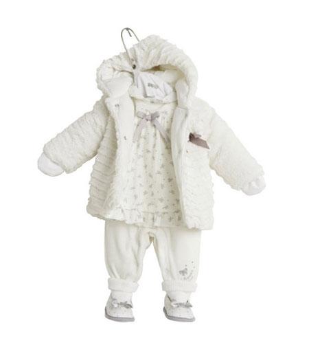 لباس نوزاد دختر زمستانی