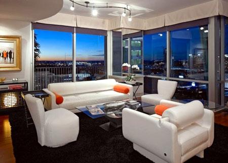 دکوراسیون مدل جدید خانه و اتاق نشیمن برای سال 96 و سال 2017