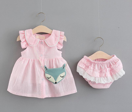 ست لباس نوزادی دخترانه,پیراهن نوزادی دخترانه